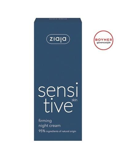 Ziaja Ziaja Sensitive Skin Hassas Ciltler İÇin Sıkılaştırıcı Gece Kremi 50 ml Renksiz
